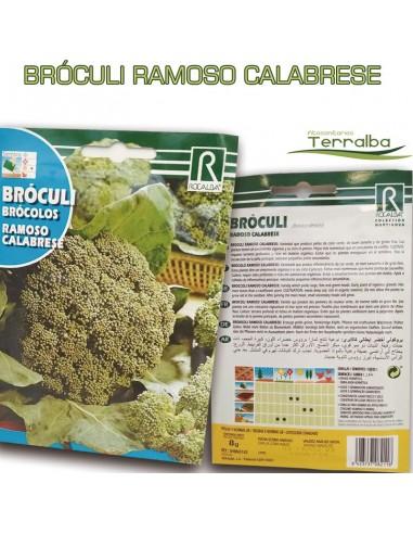 SEMILLAS BRÓCULI RAMOSO CALABRESE
