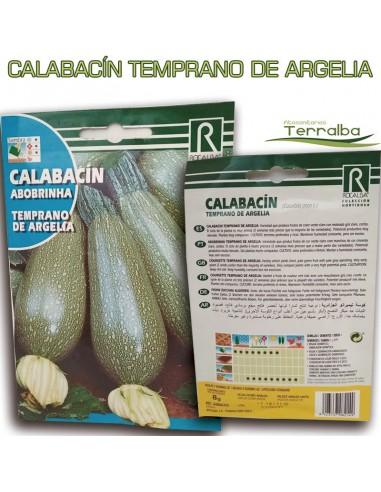 SEMILLAS CALABACÍN TEMPRANO DE ARGELIA