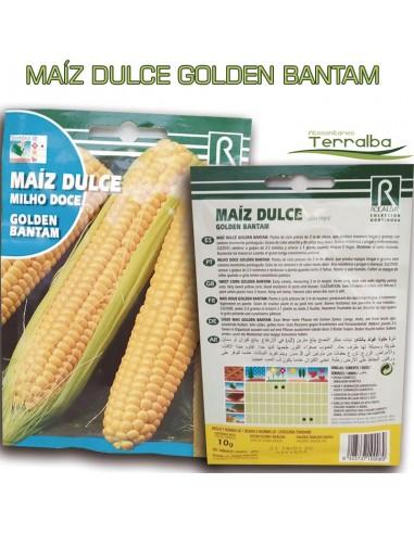 SEMILLAS MAÍZ DULCE GOLDEN BANTAM