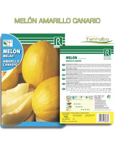 SEMILLAS MELÓN AMARILLO...