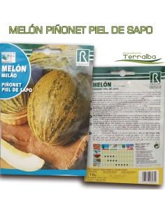 SEMILLAS MELÓN PIÑONET PIEL...