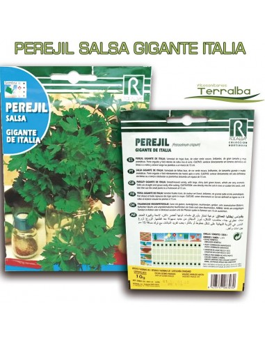 SEMILLAS PEREJIL GIGANTE ITALIA