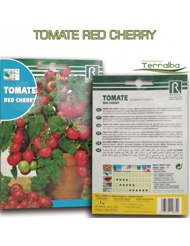 SEMILLAS TOMATE RED CHERRY