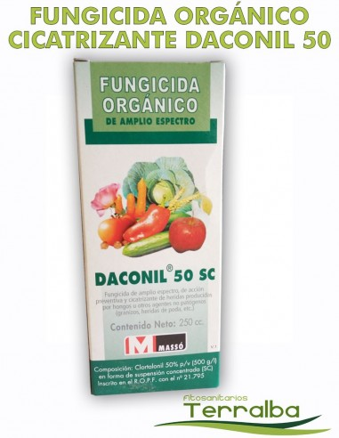 FUNGICIDA ORGÁNICO DACONIL 50 SC