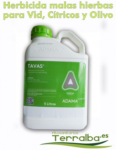 HERBICIDA Tavas® ADAMA PREEMERGENCIA...