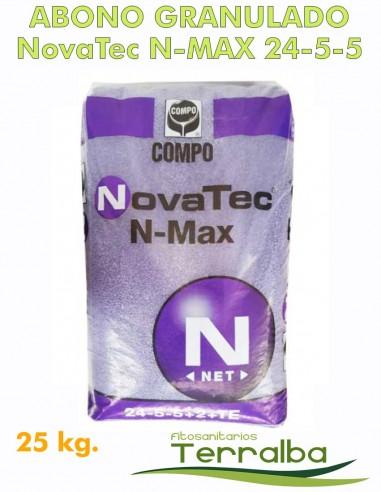 ABONO COMPLEJO NOVATEC N-MAX 24-5-5