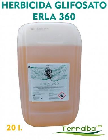 Herbicida GLIFOSATO Erla 360