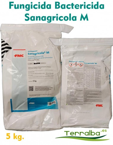FUNGICIDA - COBRE Sanagricola M
