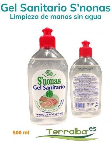 GEL MANOS DESINFECTANTE SANITARIO...