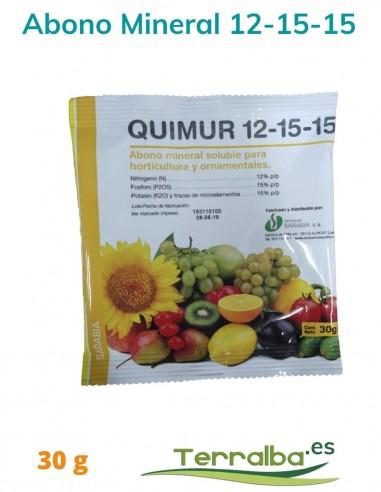 Abono fertilizante mineral Quimur...
