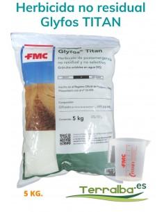 Herbicida Glifosato Glyfos TITAN 5kg