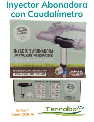 Inyector Fertilizante con Caudalímetro