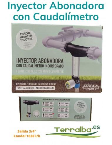 Inyector Abonadora con Caudalímetro