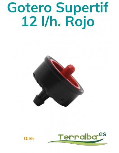 GOTERO SUPERTIF AUTOCOM. 12 L/H ROJO