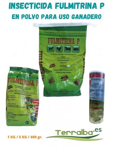 Insecticida en Polvo para uso Ganadero