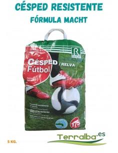 Césped Relva Fútbol Resistente Fórmula Mach