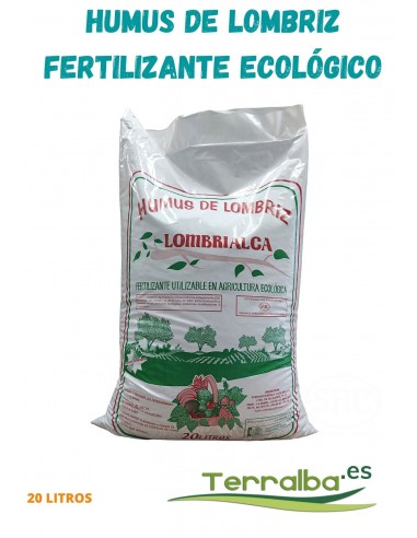 fertilizante elcologico humus de lombriz solido estiercol cabra oveja enraizador natural