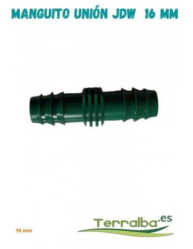 Manguito de unión exudación JDW 16 mm Fitosanitarios Terralba