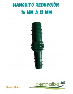 Manguito de reducción 16 mm a 12 mm Fitosanitarios Terralba