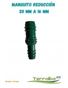Manguito de reducción 20 mm a 16 mm Fitosanitarios Terralba