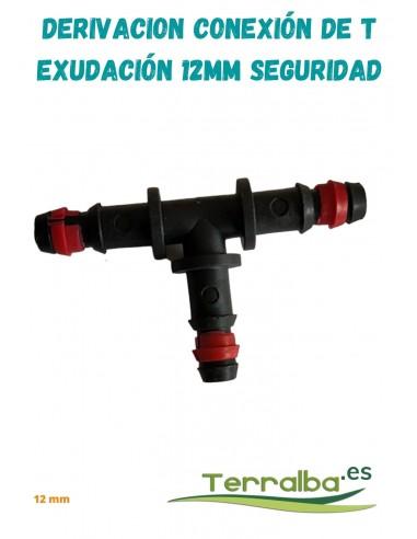 Derivación conexión de T seguridad 16 mm Terralba