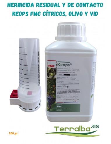 herbicida-keops-fmc-residual-contacto-gránulos-agua-citricos-olivo-vid-malas-hierbas-fitosanitarios-terralba