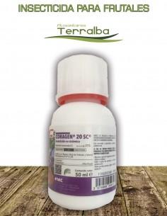 INSECTICIDA CORAGEN 20SC FRUTALES Y ALGODÓN 50 ml