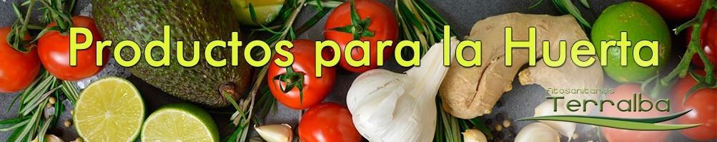 Productos para la huerta, hortaliza e invernadero