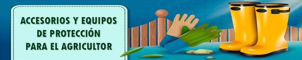 Material, Accesorios, Herramientas y Equipos Protección para Agricultura
